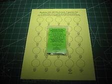 Realistic DX-300 Capacitor Replacement/Repair Kit w/ (5)2SC1815 Transistors