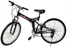 "Folding Mountain Bike 6 Speed 26"" Wheel Bicycle"