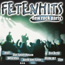 Fetenhits-New Rock Party (2002) Alien Ant Farm, Lambretta, Emil Bulls, .. [2 CD]