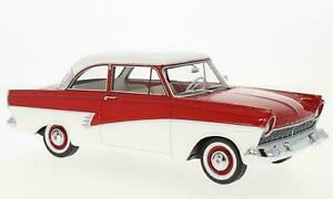 BOS347 - Ford Taunus 17M (P2), rot/weiss - BoS 1:18