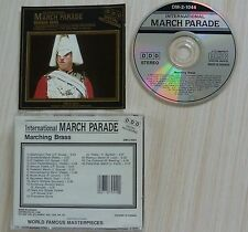 RARE CD ALBUM INTERNATIONAL MARCH PARADE 16 TITRES MADE IN CANADA DM 2 1044