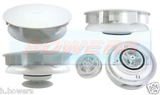 G&C TURBO 3 WHITE WIND ROTARY ROOF AIR VENT VENTILATOR MOTORHOME VAN BUS COACH