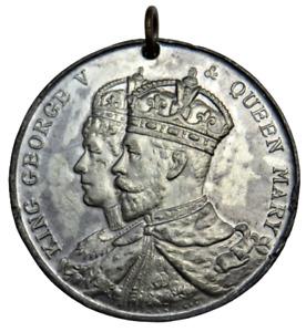1911 King George V Coronation Medal - Burnley Jubilee Of Borough 1861-1911
