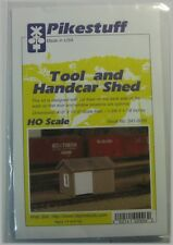 Pikestuff HO Scale 541-0006 Tool and Handcar Shed