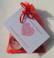 Boyfriend Girlfriend gift to say I love you. Novelty Kit card. Also Husband Wife