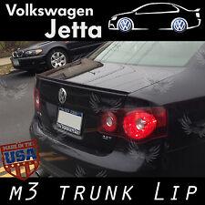 (244L) Volkswagen Jetta V 2006-2011 Rear Trunk Add-on M3 style Lip Spoiler Wing