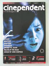 Cinependent - Filmmagazin, 2003/2004 Ausgabe 5 - rar neu ungelesen!
