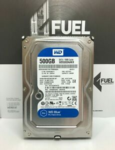 WD Blue WD5000AAKX-08U6AA0  500GB SATA 3.5inch Desktop Internal Hard Drive