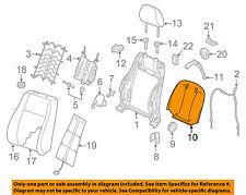 AUDI OEM 15-16 A3 Quattro Front Seat-Seat Back Panel Trim 8V7881969AOIS