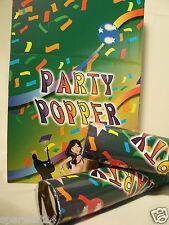 KONFETTI Konfettikanone 38cm XXL Shooter Partypopper Karneval Fasching PARTY