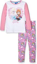 pyjama manches longues reine des neiges 6 ans rose