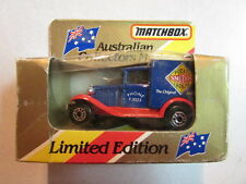1981 Matchbox Australian Collectors Model Limited Edition Mb 38 Ford Model A Oop