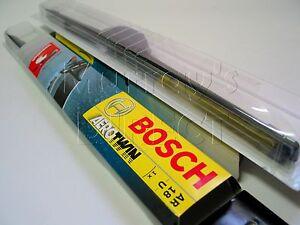 """Pair Bosch AeroTwin Retrofit Flat Wiper Blades 18"""" VW T25 Camper Mk2 Golf GTI"""