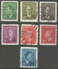 Decimal Used Single North American Stamps