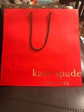 Kate Spade Large Shopping Bag 18''x18''x 6'' Orange And Purple