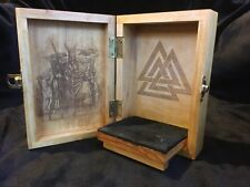 Norse God Odin Portable Travel Altar Box