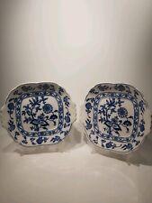 Cauldon Meissen 2x Serving Plates 1895-1904s, Appr. 26x23cm
