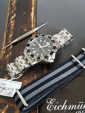 QUALITY DIVE WATCH BY GERMAN BRAND Eichmuller + FREE SPECTRE ARMY STRAP