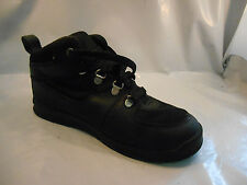 Timberland 3578R Black Leather GT Scramble Boots Kids Size 1 M / 32.5 Euro