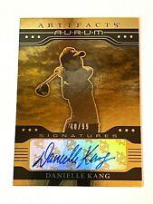 2021 Artifact Golf GOLD AURUM AUTO #/99 DANIELLE KANG ROOKIE LPGA USA Olympics