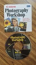 Canon Photography Workshop CD ROM V1.0 Disc Only 2001