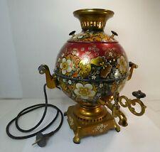 Superbe samovar russe électrique vintage, fonctionne :)