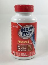 Schiff Move Free Joint Health Advanced Glucosamine + Chondroitin 200 Tablets
