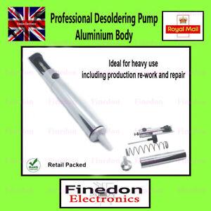 Professional Desoldering Pump Aluminium Body Soldering Solder Sucker Remover