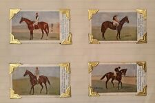 "12 x Different ""Sniders & Abrahams"" Horse Racing Cards • 1906"