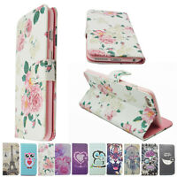 Flip PU Leather Wallet Card Slot Case Cover Stand for Apple iPhone 6 6Plus 5S SE