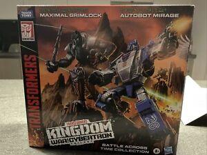 Transformers War For Cybertron Kingdom Maximal Grimlock (no Mirage)