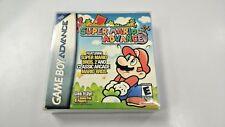 Super Mario Advance Nintendo Game Boy Advance GBA Complete CIB with Box Manual