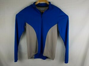Pearl Izumi Long Sleeve Cycling Jersey Medium Blue