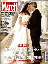 PARIS MATCH N°3411 2 OCTOBRE 2014  CLOONEY/ MADAGASCAR/ GOURDEL/ IRAK/ GAULTIER