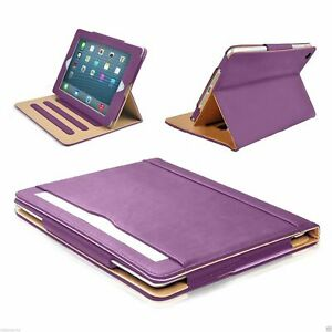 For Apple iPad Soft Leather Case Magnetic Smart Cover w Sleep Wake Folio Stand