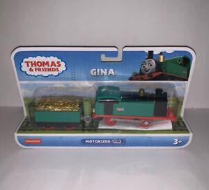 Thomas & Friends Track Master Gina Motorized Engine Fisher-Price GJX80 NIP New