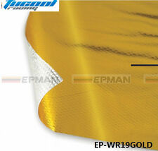 """39"""" x 47""""Piece SELF ADHESIVE REFLECT A GOLD HEAT WRAP BARRIER Protection Tape"""