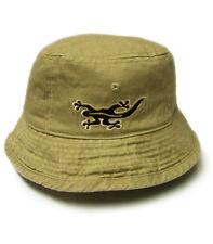 Black Salamander Straw Bucket Hat - BH3 - New