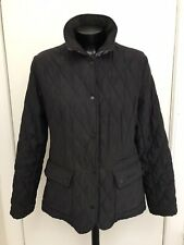 Barbour Navy Blue Quilted Jacket Size 12
