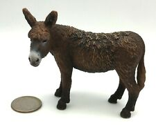 Schleich POITOU DONKEY 2009 Retired Animal Figure 13661 HTF!