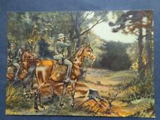 Germany Third Reich  RPPC  Postcard Cover Feldpost  Horses Soldiers