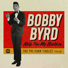 Help for My Brother Pre Funk Singles - Bobby Byrd Compact Disc