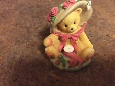 """Cherished Teddies """"Janet"""" Your Sweet As A Rose"""