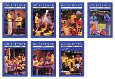 NEW Go Science Set of 7 DVD for Kids Ben Roy Kids Time Engineering Design Flight