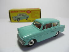 DINKY TOYS 155 FORD ANGLIA EXCELLENT VINTAGE CAR IN ALL ORIGINAL BOX