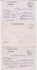 GERMANY WW II OFLAG 6E POW COVER COLLECTION