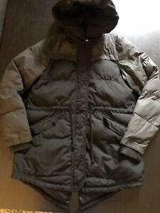 "Adidas Neo Mens Puffer Jacket Oversized Hood S 34-36"""