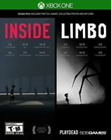XBOX ONE XB1 INSIDE LIMBO DOUBLE PACK BRAND NEW AND SEALED