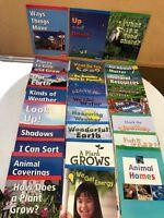 27 Harcourt Science Below/On/Above Level Readers Grade Kindergarten