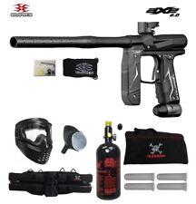 Maddog Empire Axe 2.0 Beginner Hpa Paintball Gun Package B Dust Black